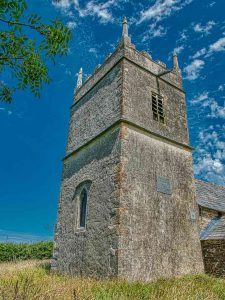 Church Exterior 18th Century West Tower Luffincott