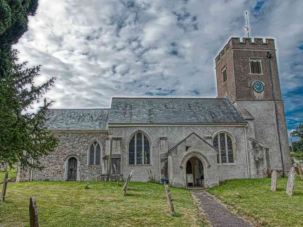 With that small chancel on the end, this not your typical Devon church
