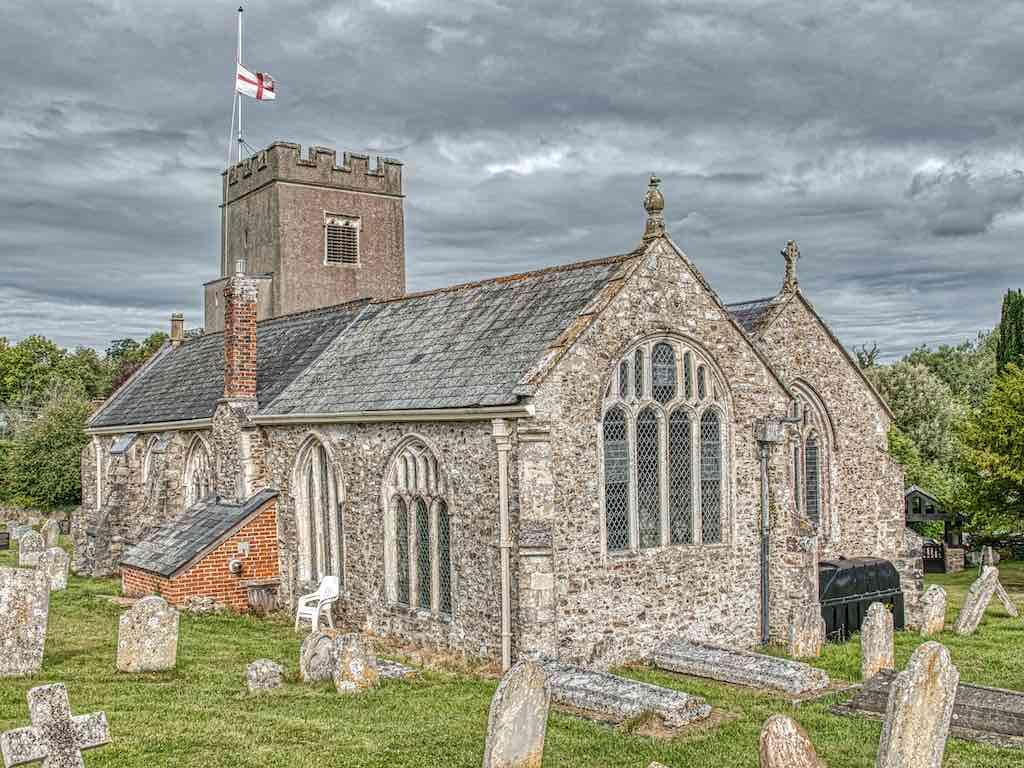 Gittisham Church of St Michael, a beautiful East Devon church with a stunning interior.