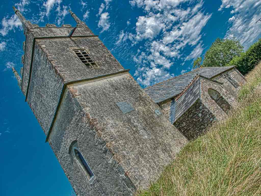 Church West Tower Exterior 18th Century Luffincott