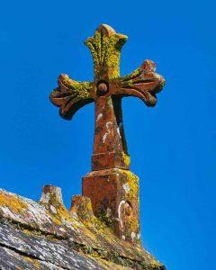 Cross Christian Fired Clay Luffincott