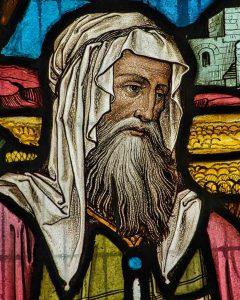 Victorian Church Stained Glass Book Of Ruth Boaz Beard Gittisham