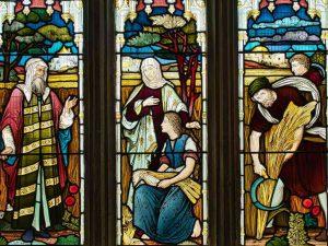 Victorian Church Stained Glass Book Of Ruth Boaz Gittisham