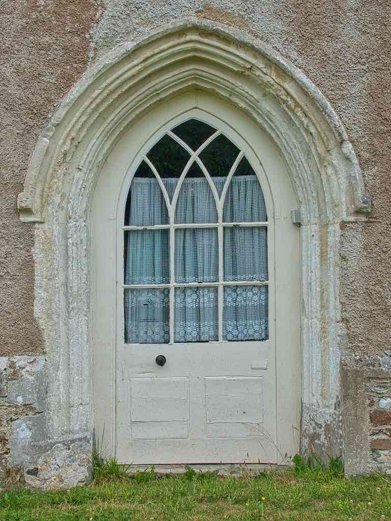 Have you ever seen a west door like this?