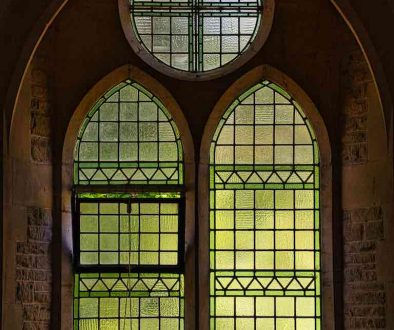 Window Interior Stained Glass Light Peace Bruce William Oliver 1878 Parracombe