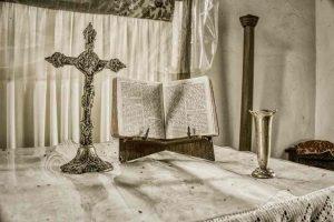 Altar Bible Cross Proayer Cookbury