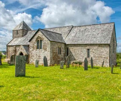 Church Exterior Transept 14th Century Medieval Cookbury