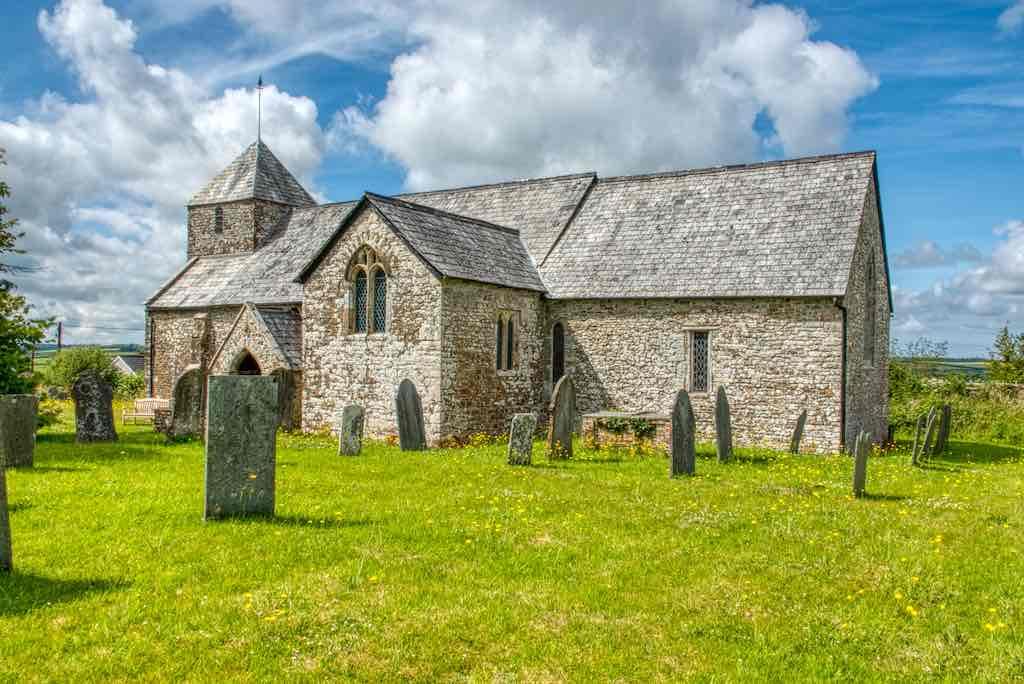 Cookbury Church of St John the Baptist and the Seven Maccabees, an original West Devon church