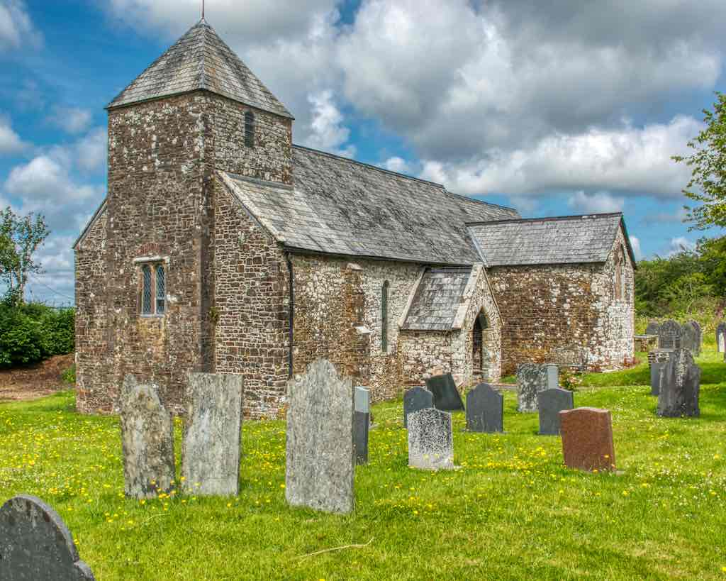 That small tower, originally Norman, clasped by the nave and aisle, most unusual.