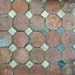 Floor Tiles Old Victorian Patterned 19th Century Cookbury