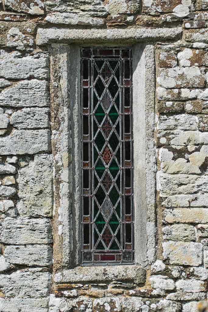 Window Exterior 14th Century Medieval Stonwork Stone Cookbury