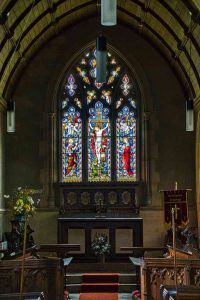 Chancel 19th Century Victorian Altar East Window Stoodleigh