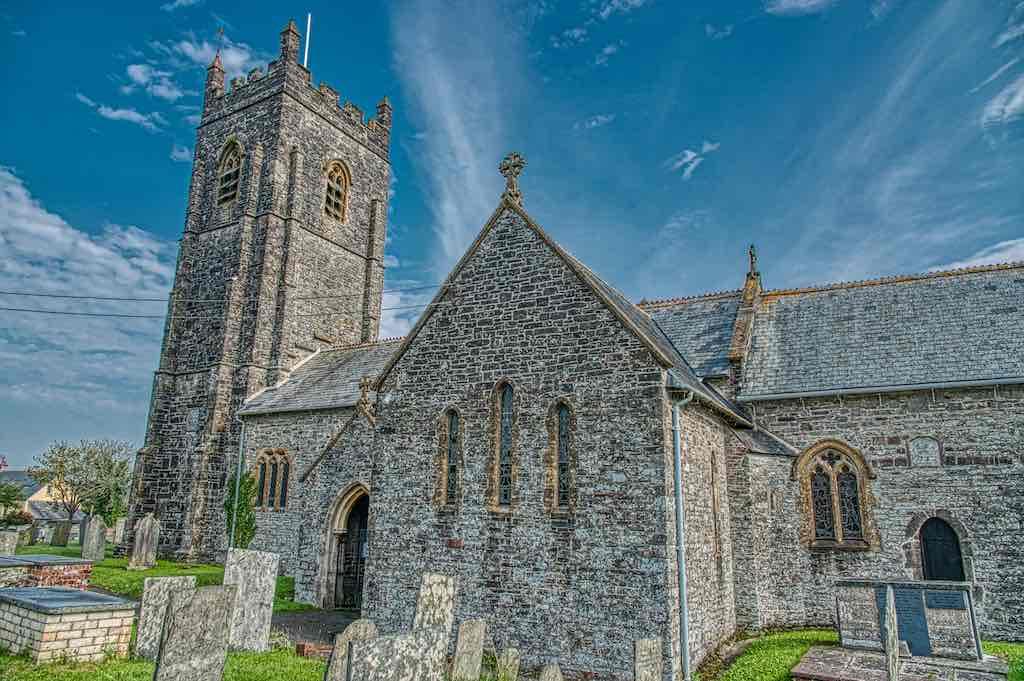 The thirteenth century West Down Church of St Calixtus