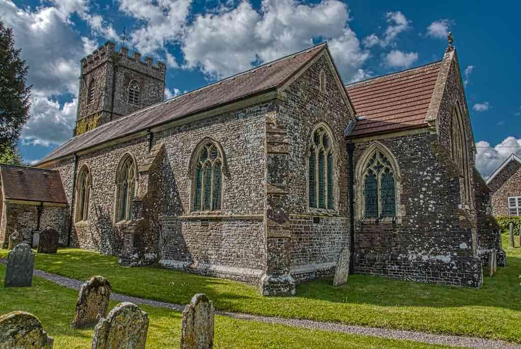 A fine Mid Devon church