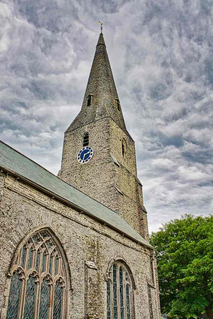 That lovely spire of Modbury Church
