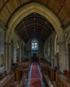 Church Interior Chancel Nave Stoodleigh