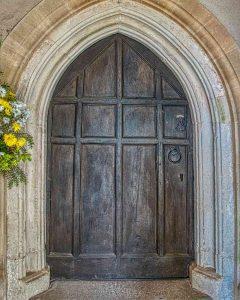 Door 17th Century Wood Stoodleigh