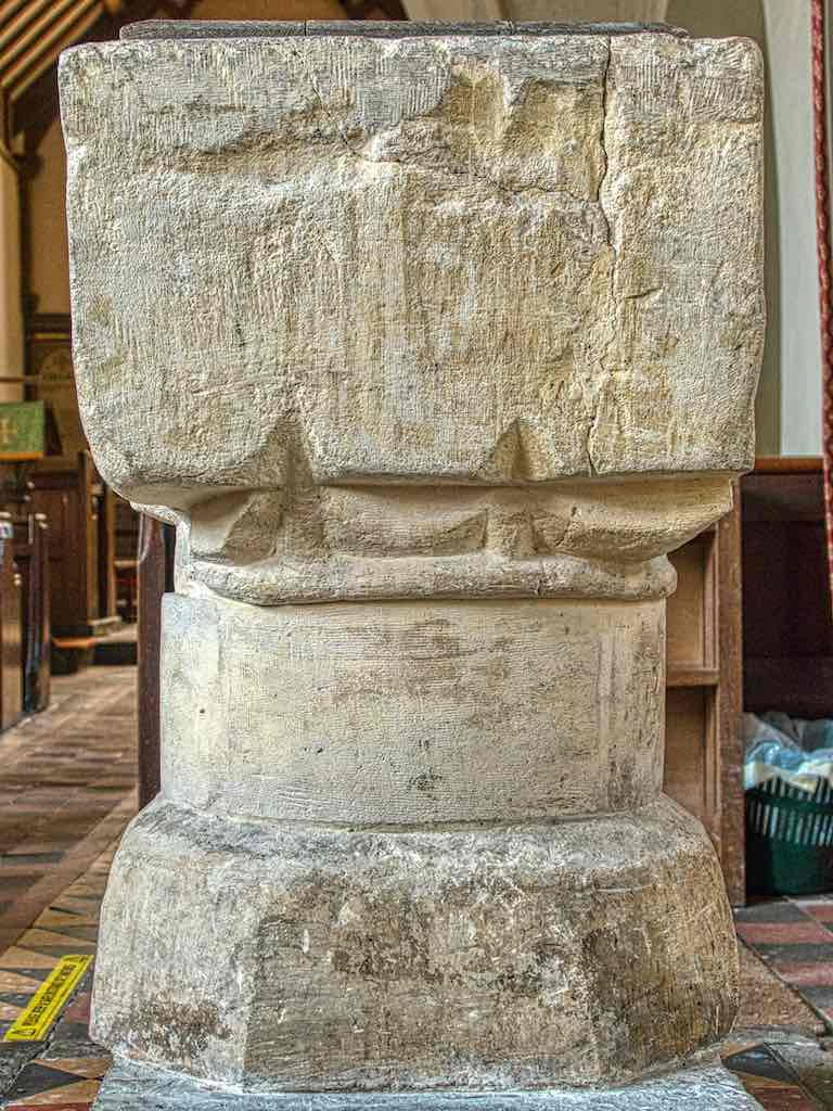 Lived a life this Norman font has