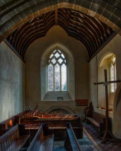 North Transept 14th Century Medieval Window Pews West Down