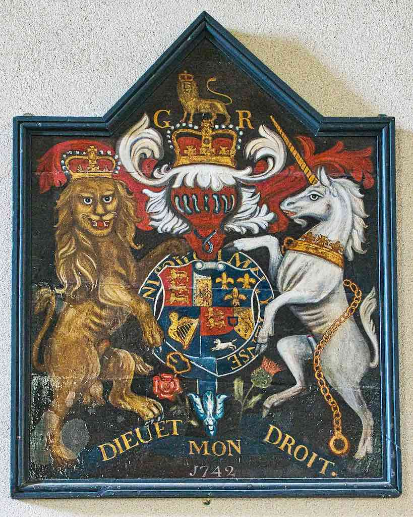 A George II coat of arms