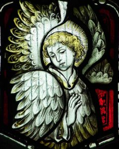 Stained Glass Hardman And Company Angel Victorian 19th Century