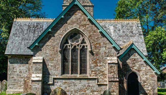 Church Exterior Victorian 19th Century Samuel Hooper Halwill