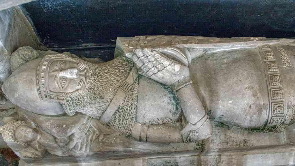 Possibly Sir William Prouz or his son Sir Hugh