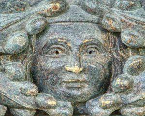 Pulpit Wood Carving PlainFace Hedgerow Folk 16th Century East Allington