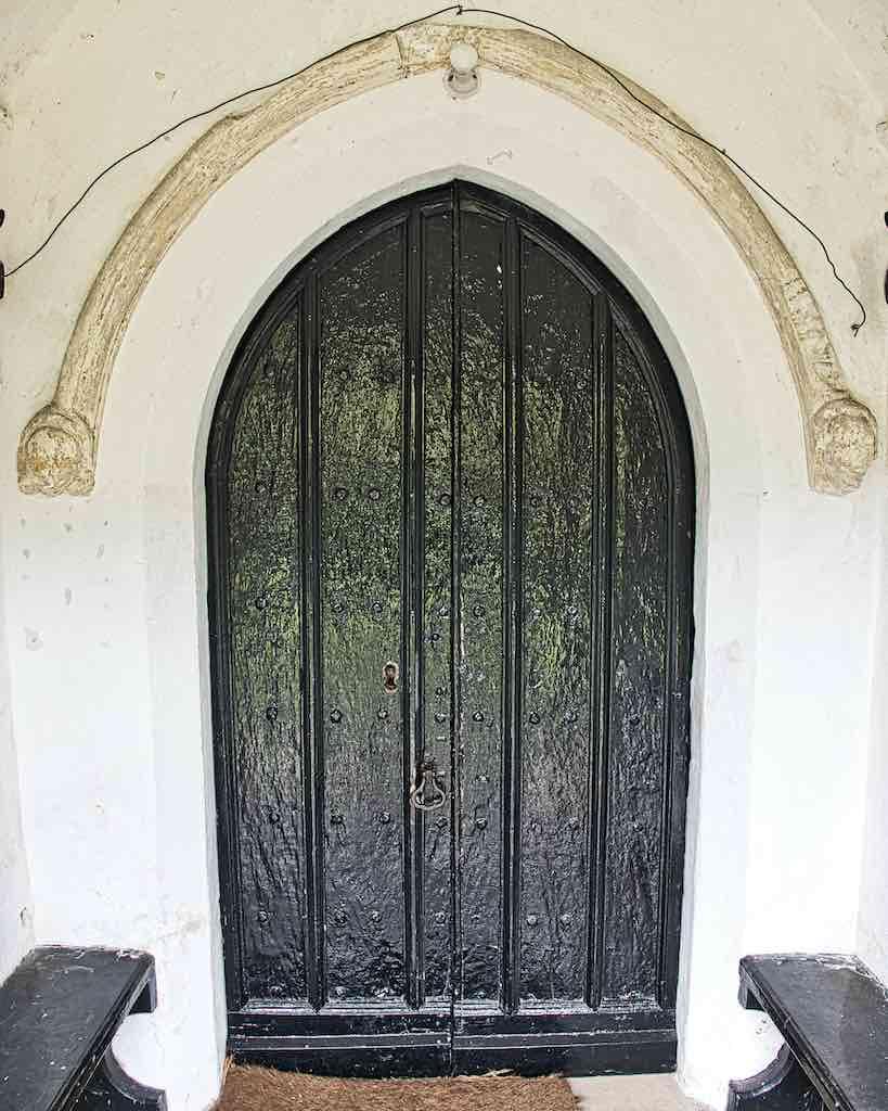 The old front door