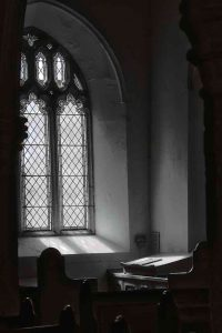 Window Interior Peace Light Black And White East Allington