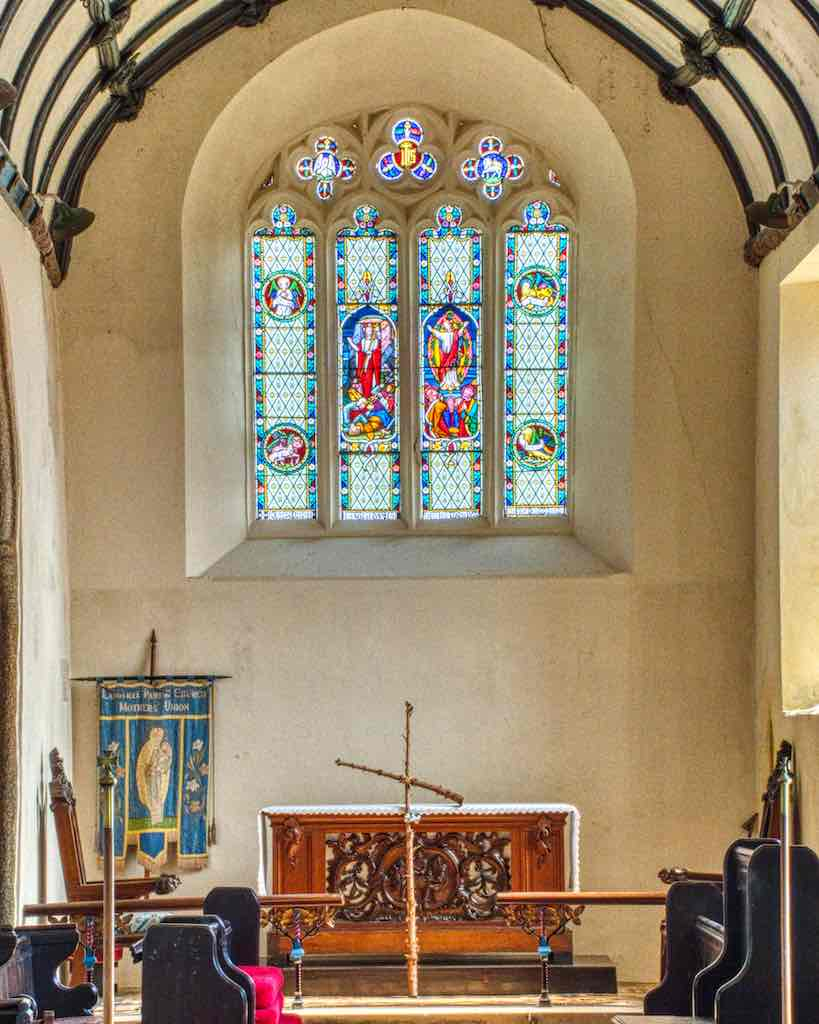 A simple chancel and all the better for it