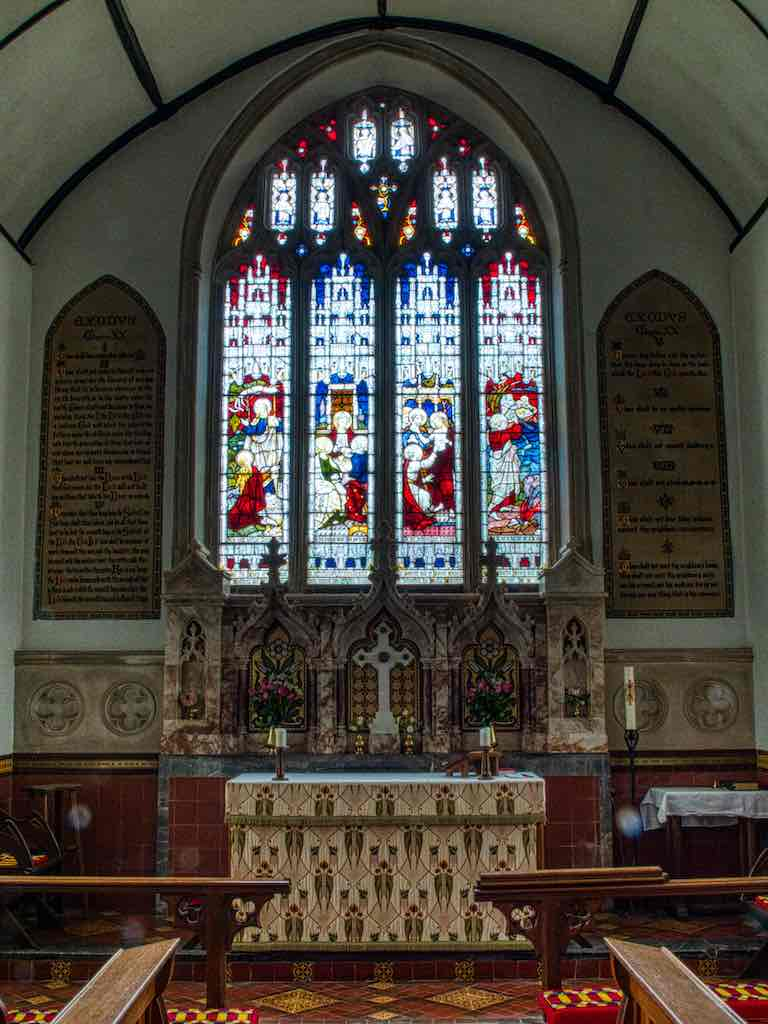 The Victorian chancel