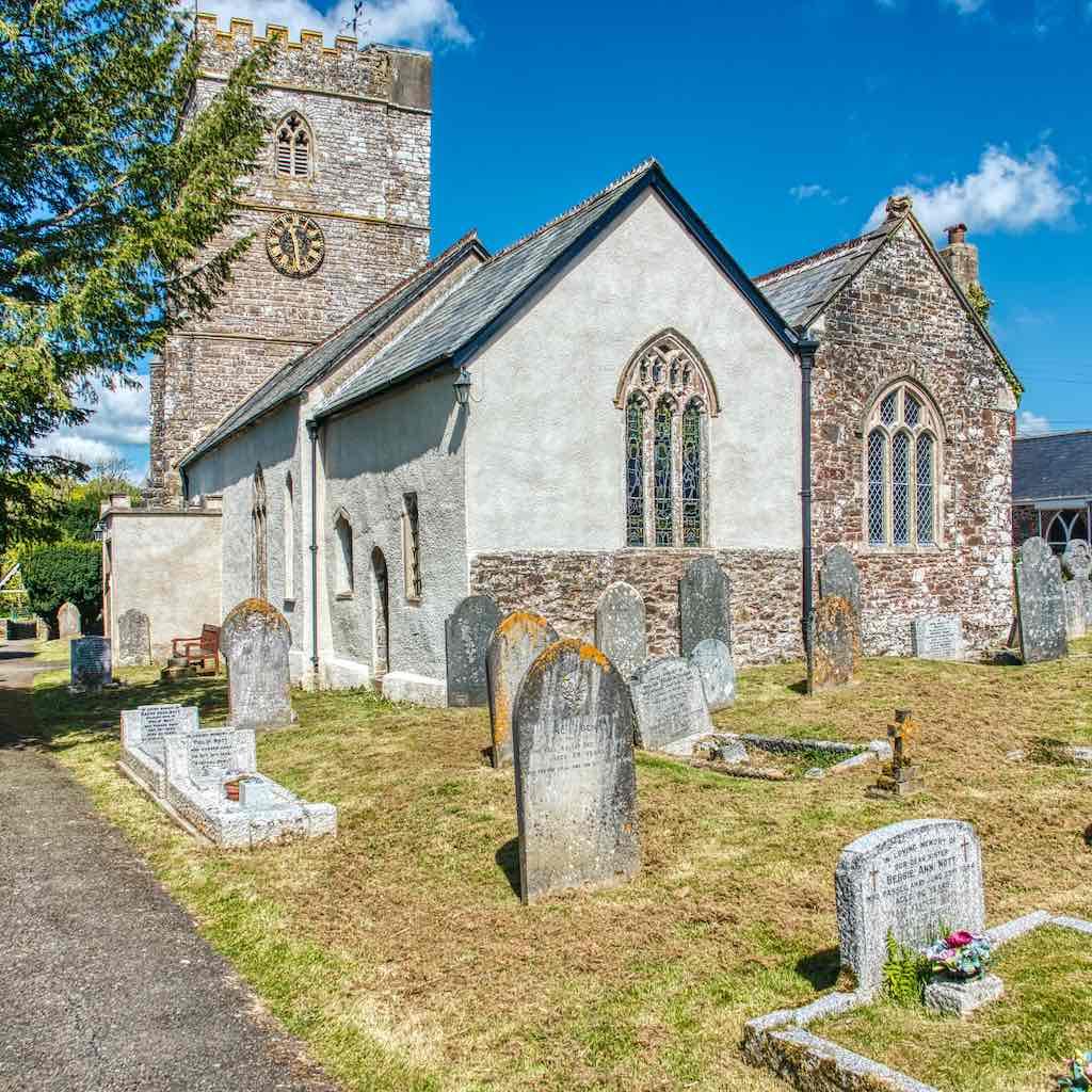 15th century Rackenford Church of All Saints