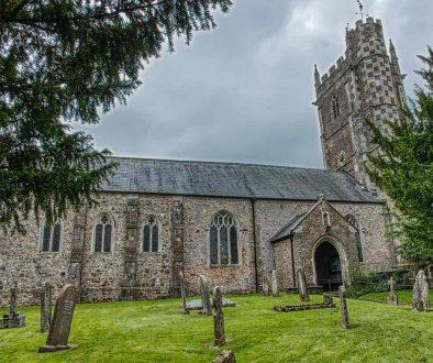 Church Exterior Tower West Medieval 15th Century Kentisbeare