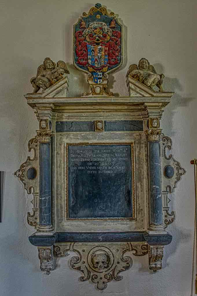 A goodly 17th century memorial to Thomas Stucley