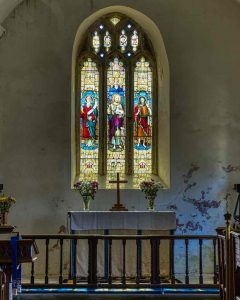 Sanctuary Altar Window 15th Century Medieval Rackenford