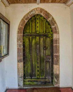 South Door Stonework 15th Century Medieval Rackenford