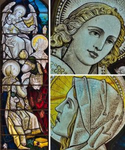 Stained Glass Resurrection He Is Risen Victorian 19th Century Rackenford