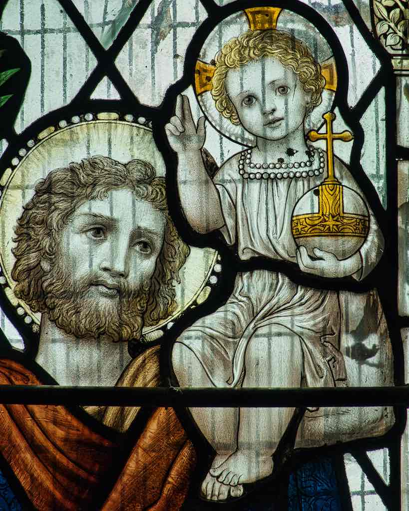 Saint Christopher and the Child Jesus