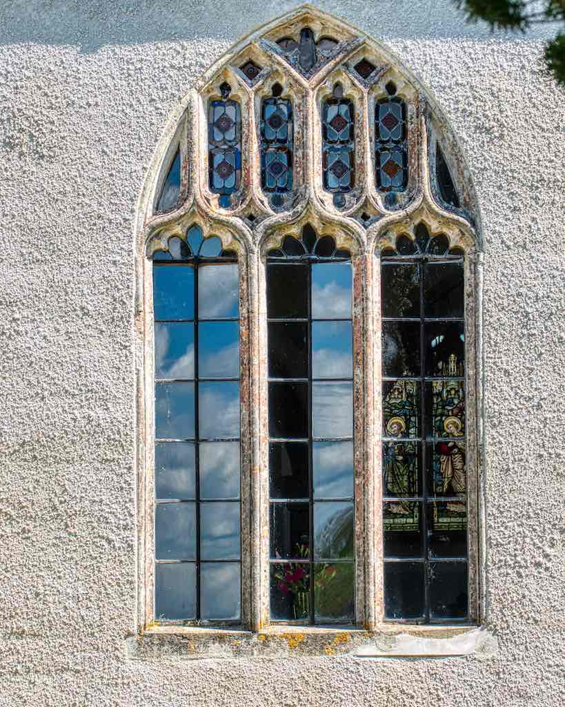 Old window, old glass, old beauty.