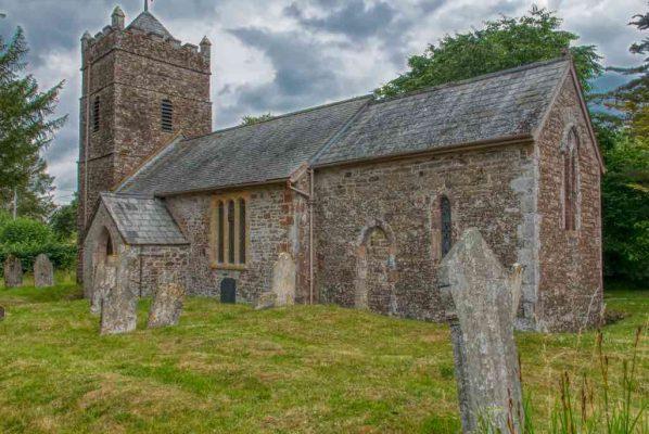 Church Exterior Stonework Chancel Tower West Tower 14th Century Medieval Kennerleigh