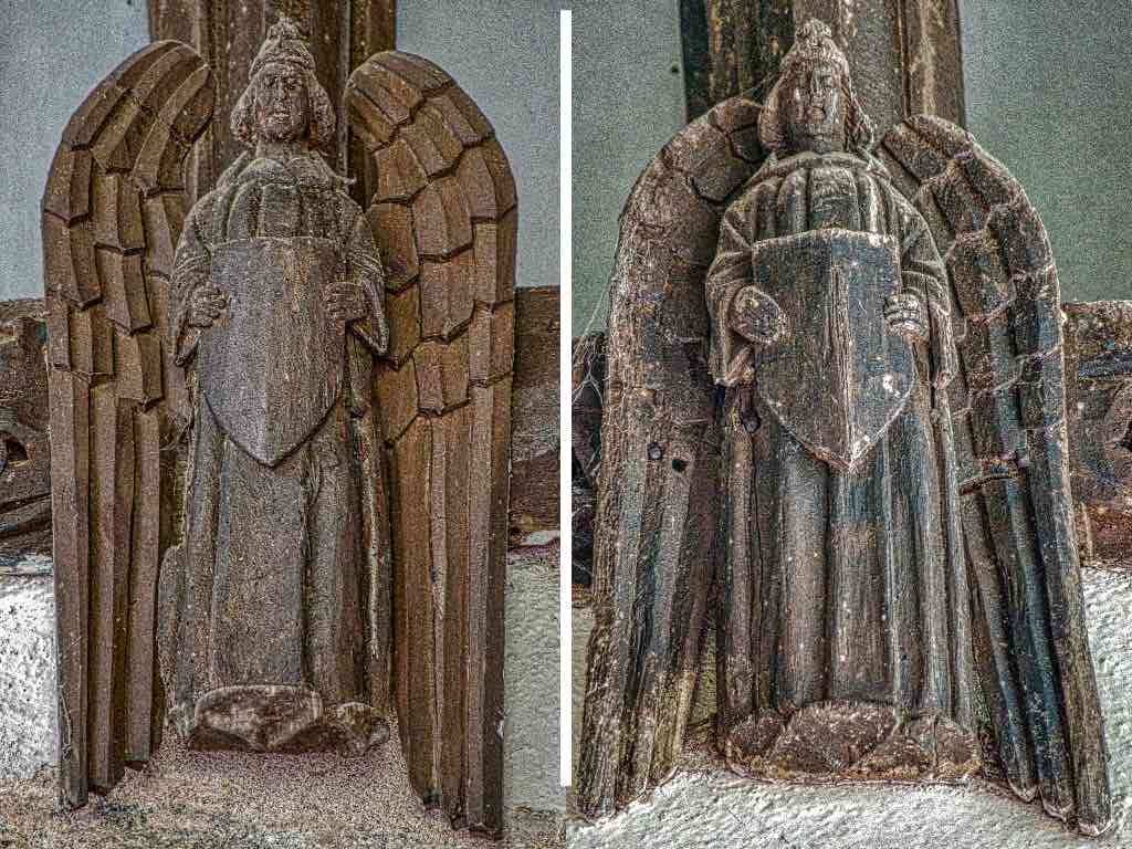 15th century angels hanging out