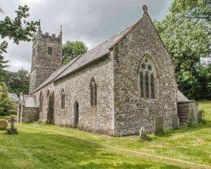 Church Exterior Chancel Stonework 15th Century Medieval Bradford