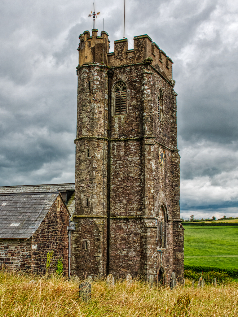 Molland Church of St Mary, sitting between the moor and the fertile valleys of Devon
