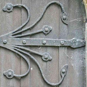 Door Hinge Ironwork Metalwork Arts And Crafts Bradford