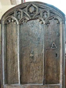 Door Wood Carving Plain 15th Century Medieval Burrington