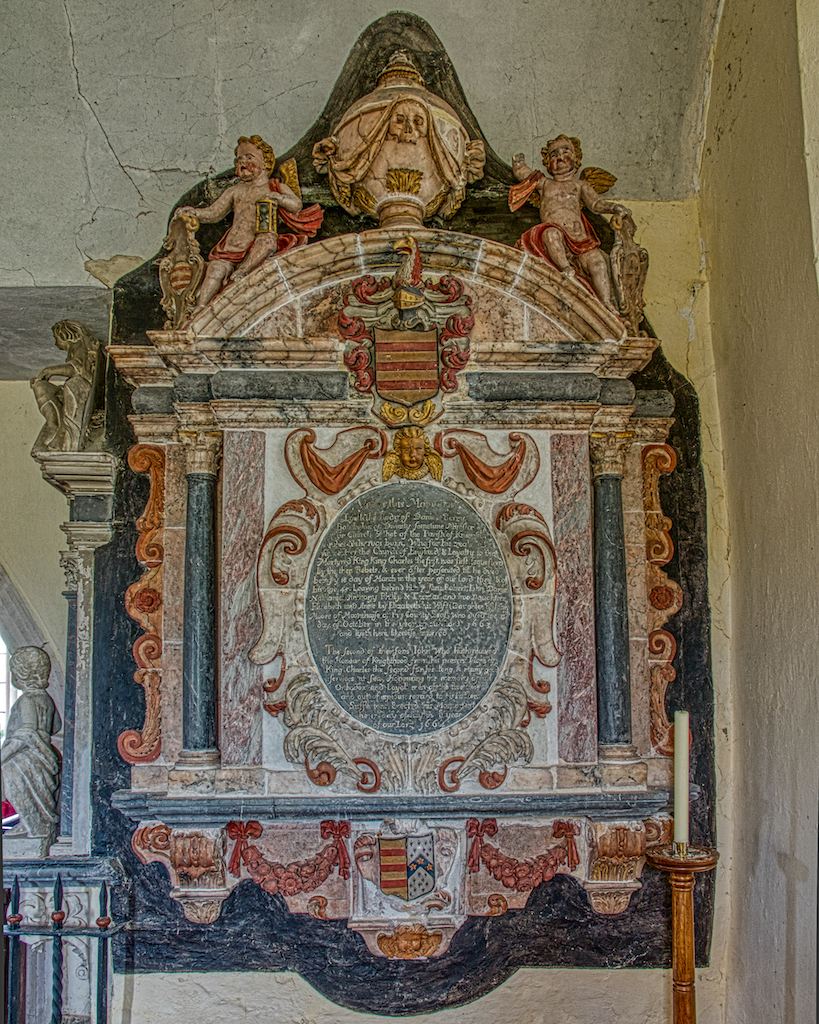 The Daniel Berry memorial; Daniel was a previous vicar of this parish