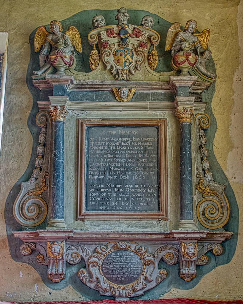 Another marvellous 17th century wall memorial, not at all subtle