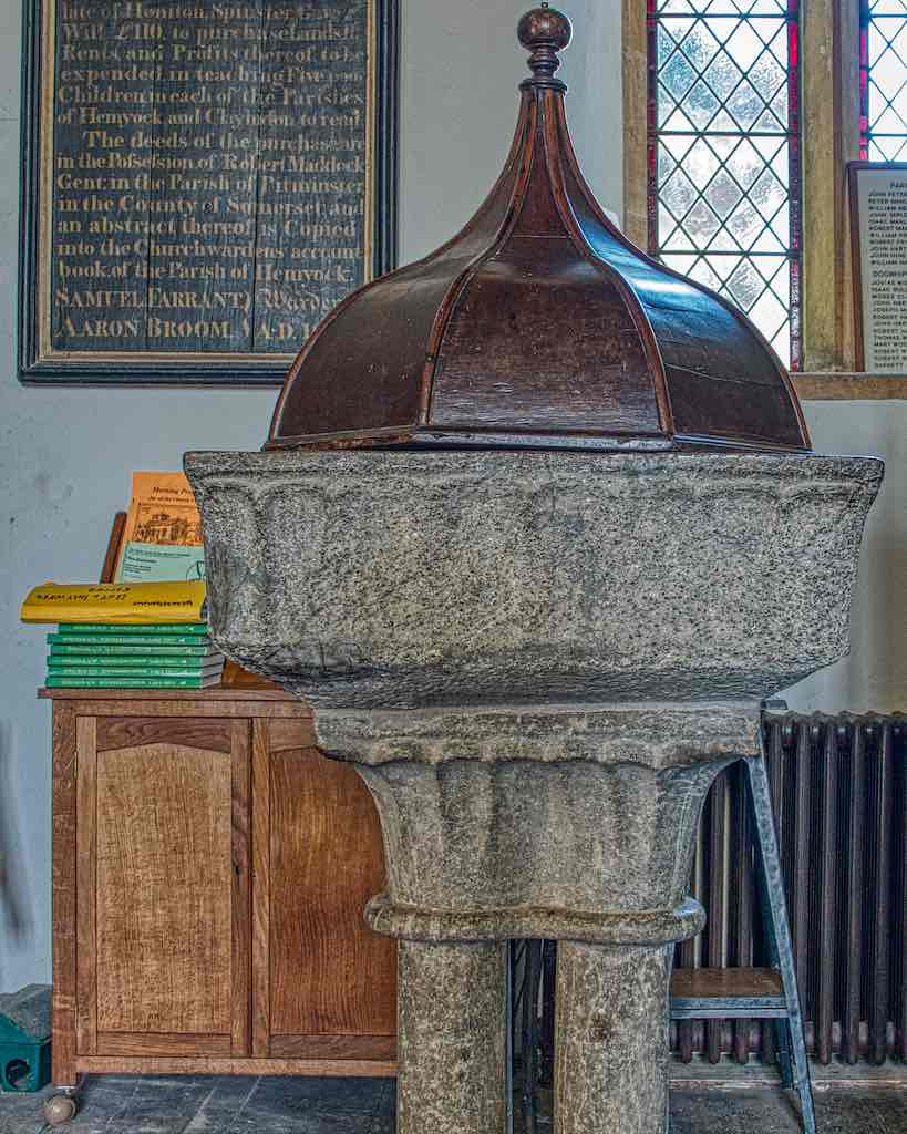The old Norman font