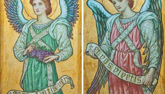Painted Angel Edward Fellowes Prynne Pre Raphaelite Victorian 19th Century Bradford